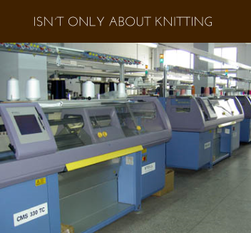 ISN´T ONLY ABOUT KNITTING